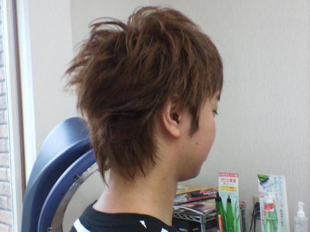 髪きり&色付け