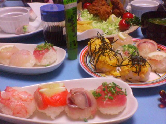 夕飯20070724<br />  誕生日エディション