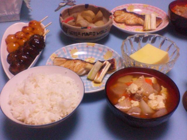 夕飯20070925