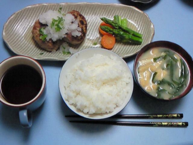 夕飯20071215