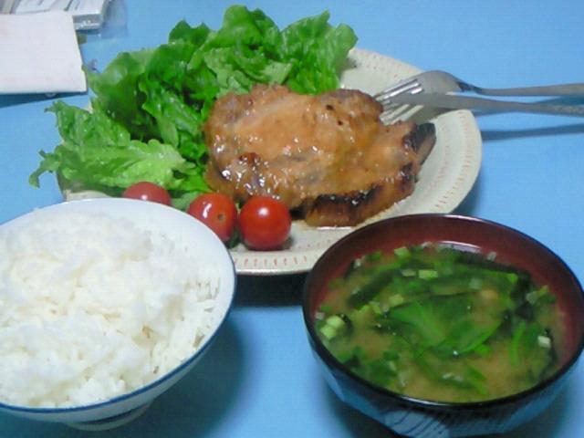 夕飯20080528