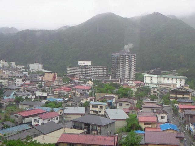 旅館からの眺め